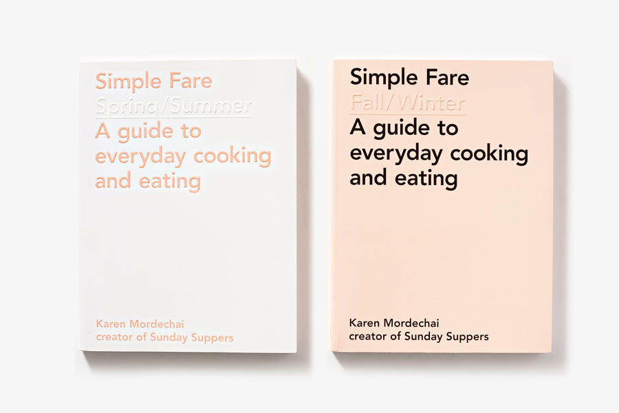 SIMPLE FARE FALL/WINTER COOKBOOK