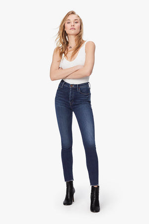 Mother Denim high waist stunner sweet and sassy blue wash | Pipe and row