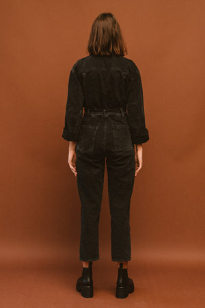 Pipe and Row Agolde Tatum Denim Jumpsuit Shade Spring 2020 2