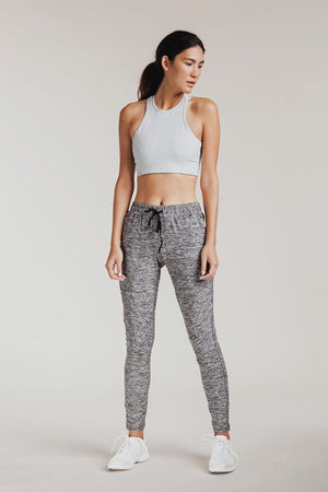 ATHENA CROP DOVE GREY