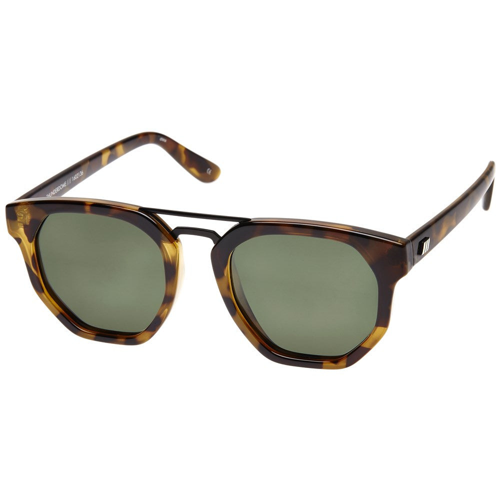 ws thunderdome aviator le specs black tort sunglasses | pipe and row