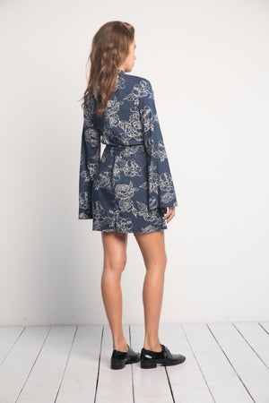 TINLEY FLORAL SHIFT DRESS