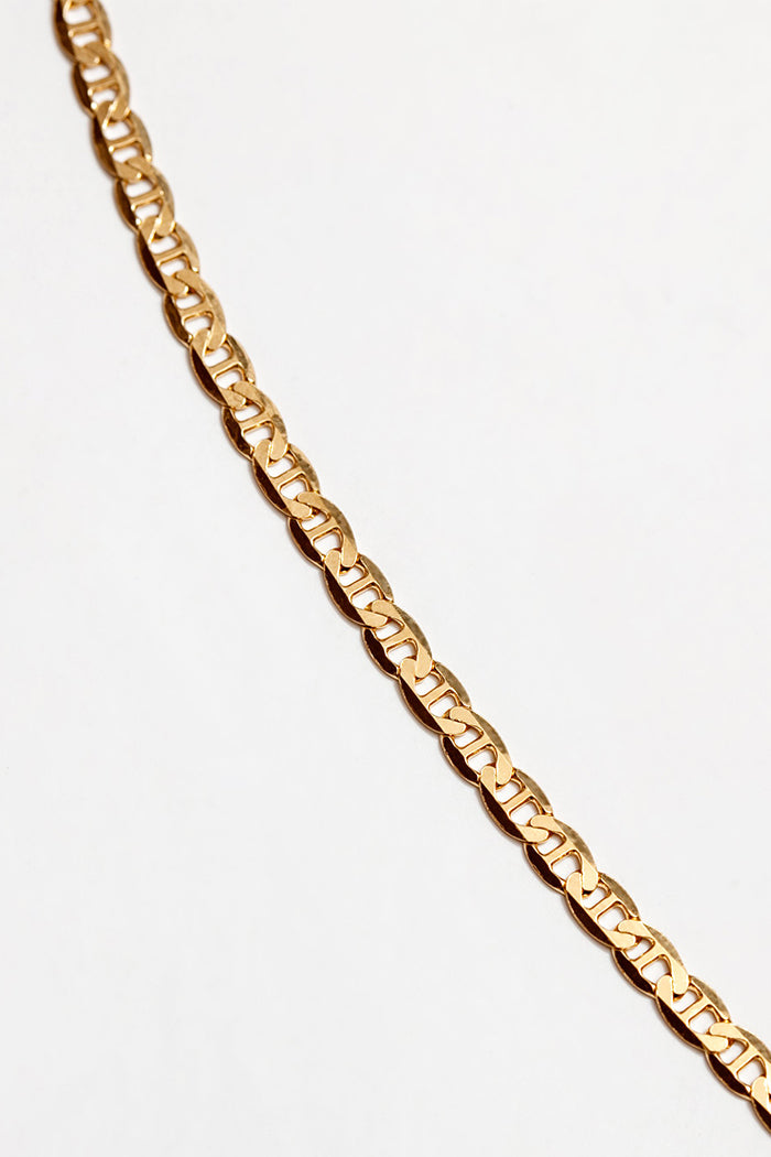 Wolf Circus Toni gold chain bracelet | pipe and row boutique seattle