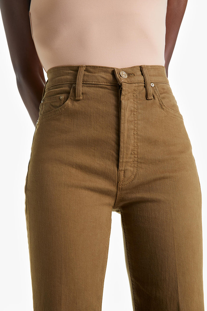 Mother denim Tripper jeans butternut brown | pipe and row boutique
