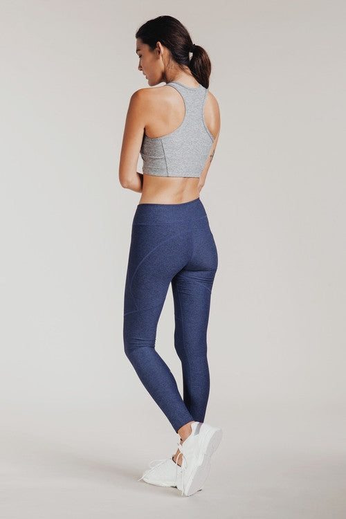WARMUP LEGGINGS NAVY