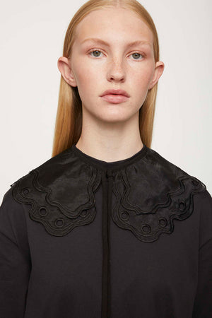 Just Waterloo separate collar delicate double-layered lace | Pipe and Row