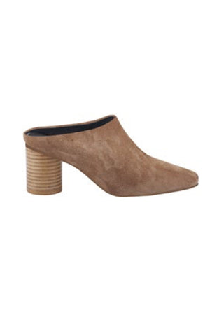 WEDNESDAY SUEDE MULE