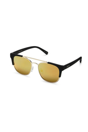 high and dry quay gold side sunglasses australia | pipe and row