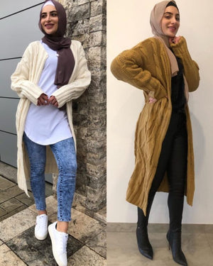 Load image into Gallery viewer, Louran Chunky Cardigan