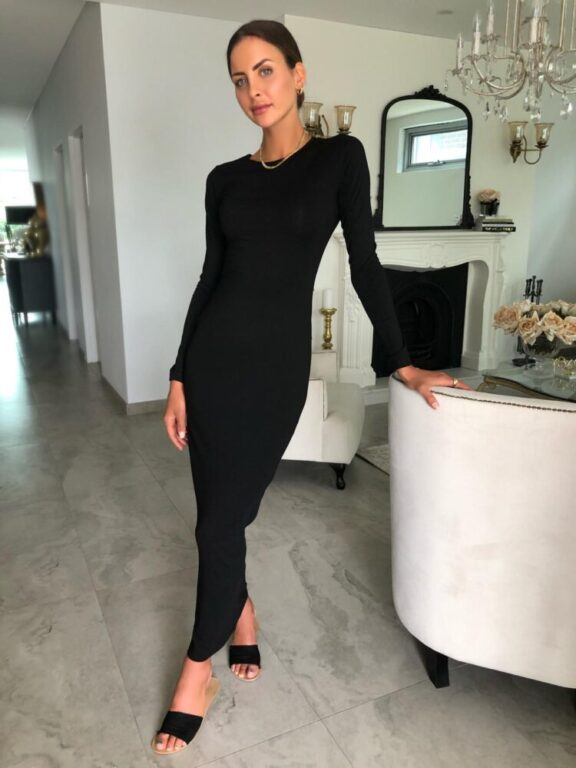 Load image into Gallery viewer, UC Long Sleeve Body Dress