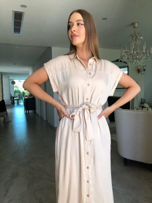 Zira Shirt Dress