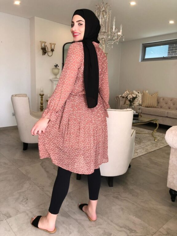 Cedya Pleated Dress