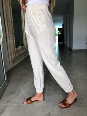 Lined Cuffed Pants