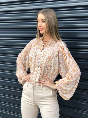 Load image into Gallery viewer, Golden Day Blouse