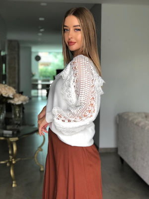 Short Lace Lee Knit