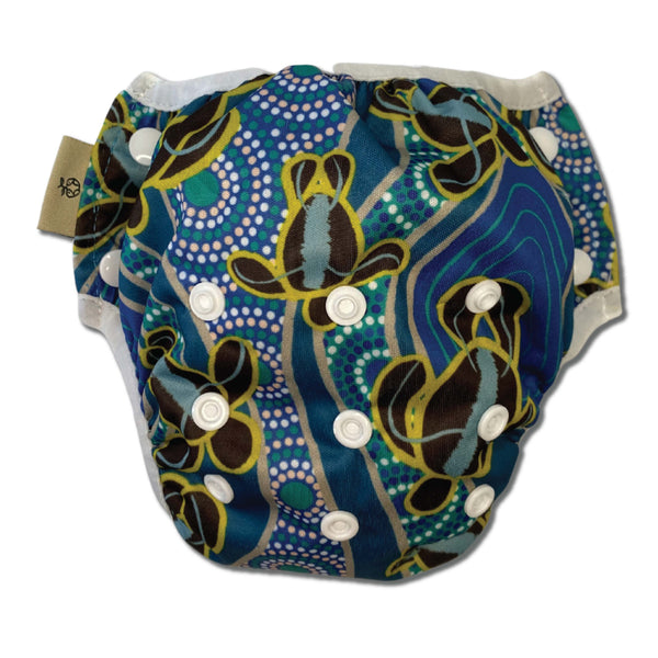 'Yakaarn' OSFM Reusable Swim Nappy