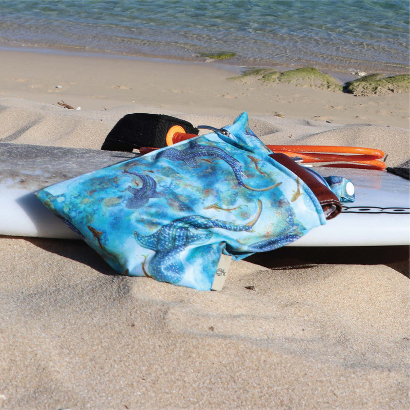 'Ningaloo Dreaming' Premium Double Pocket Wet Bag