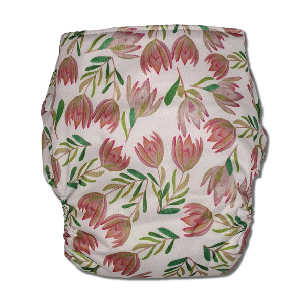 'Summer Sunset' OSFM Side Snapping Cloth Nappy