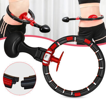Smart Fitness Ring Detachable Auto-Spinning Exercise Slimming Sports Circle