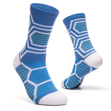 Load image into Gallery viewer, Breathable Compression Stockings Socks Below Knee Anti-friction Stockings for Cycling Sports