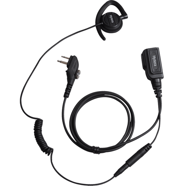 Hytera Earpiece with inline -MIC PTT - EHM20 - Radio-Shop.uk