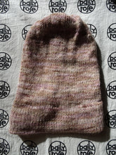 Load image into Gallery viewer, Ruched Mauve Colorada Alpaca b.annie
