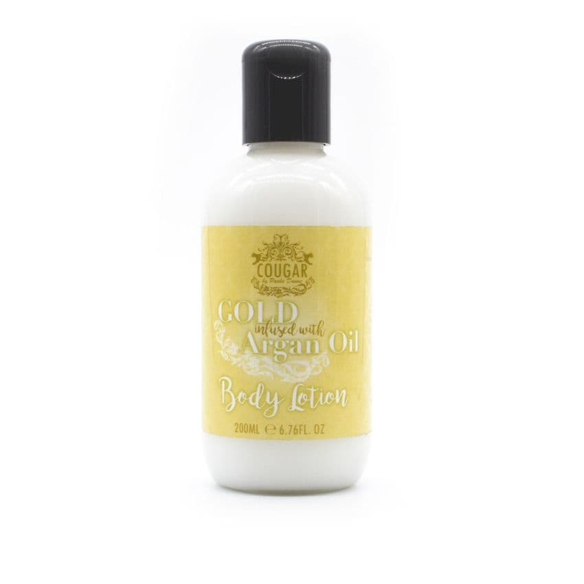 Gold With Argan Oil Body Lotion