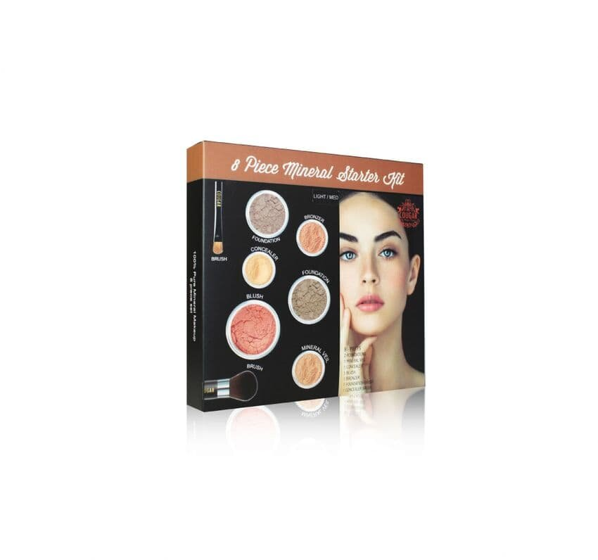 Mineral Makeup 8Pc Starter Kit