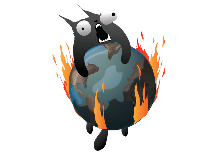 Exploding Kittens artwork