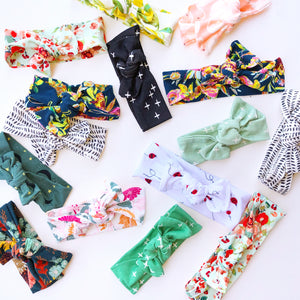 *GRAB BAG* - Set of 3 Surprise Top Knot Headbands