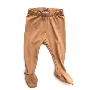 Khaki Footed Pants