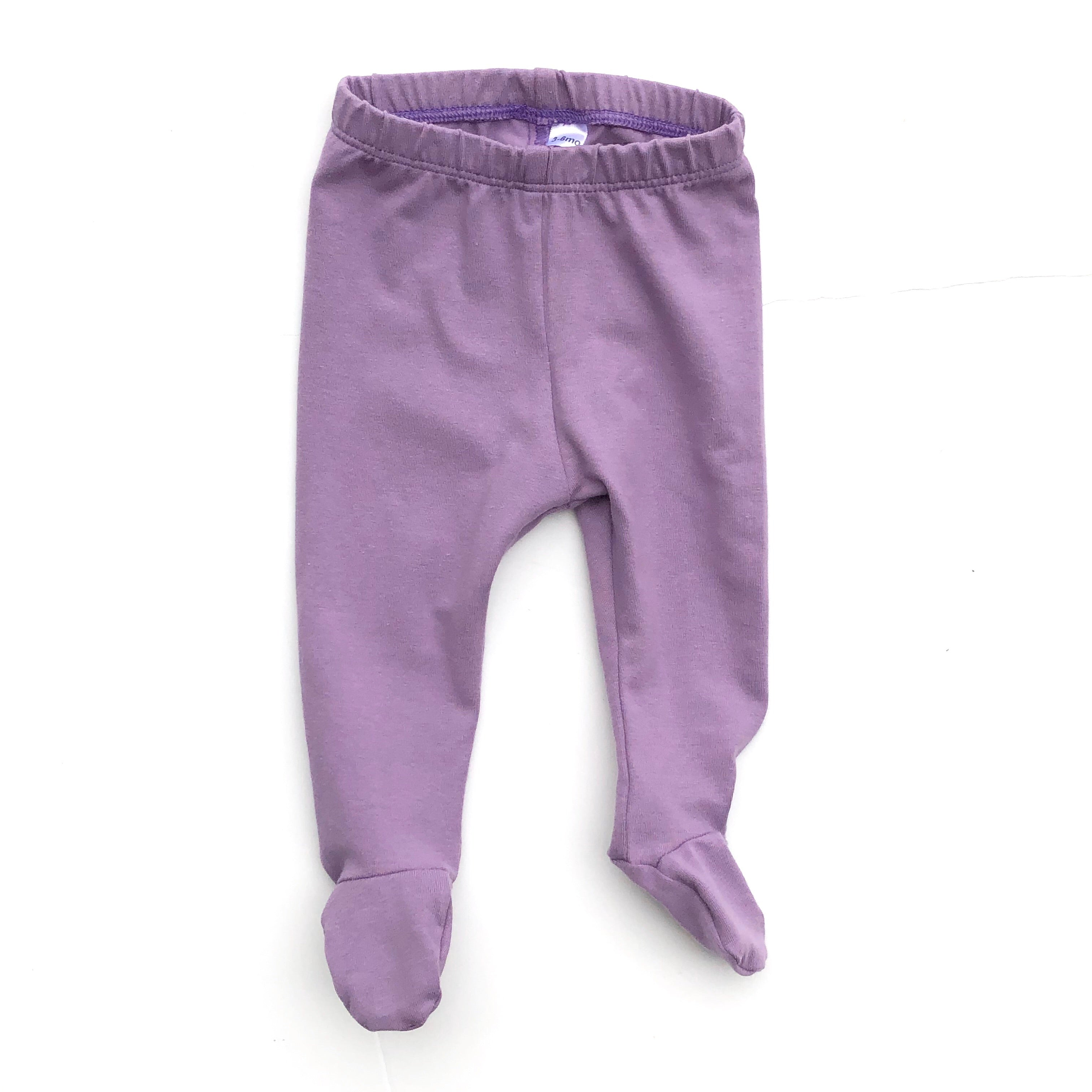 Dark Lavender Footed Pants