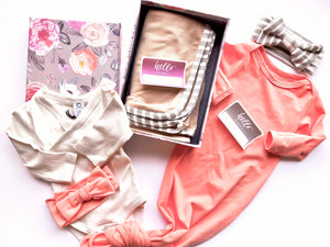 Copy of New Baby Girl Gift Set - Peaches & Cream