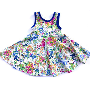 Summer Bouquet Tank Twirl Dress