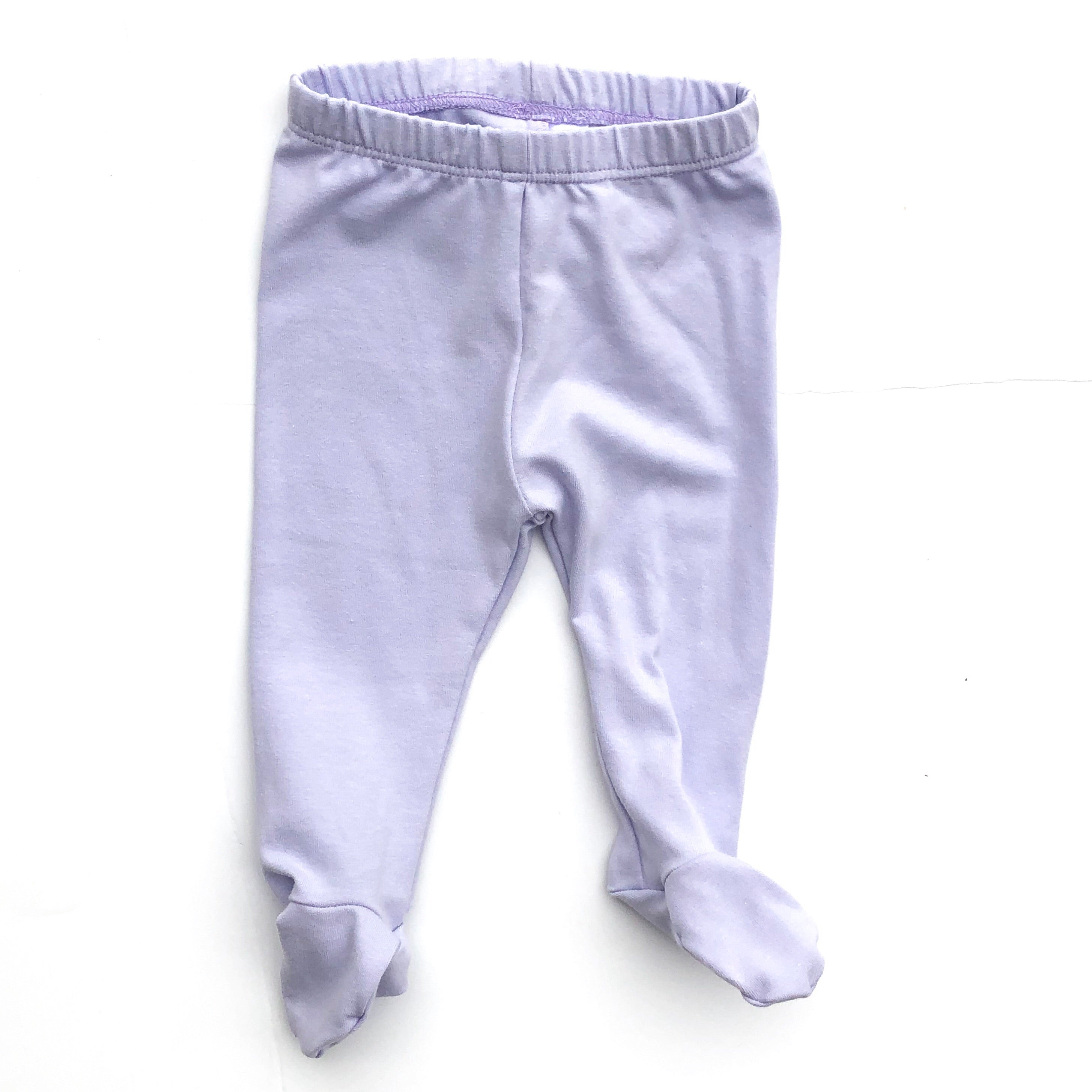 Lavender Footed Pants