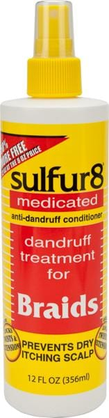 Sulfur 8 Braid Spray 8 oz