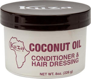 Kuza Coconut Oil Conditioner & Hair Dressing 8 oz