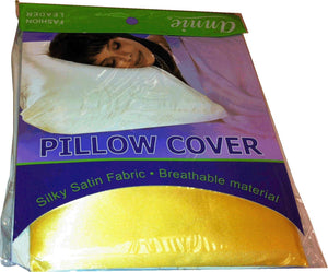 Bed Pillow Cover Yellow