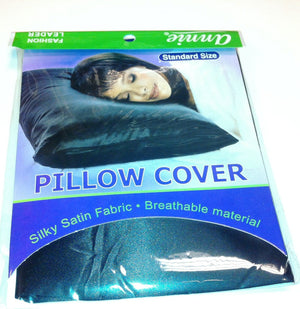 Bed Pillow Cover Black