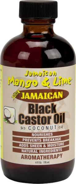 Jamaican Mango & Lime Black Castor Oil Coconut 4 oz