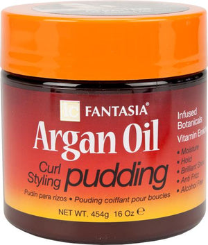 IC Fantasia Argan Oil Curl Pudding 16 oz
