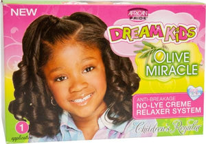 African Pride Dream Kids Relaxer Kit Regular