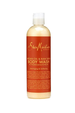 Shea Moisture Argan Oil & Raw Shea Body Wash 384 ml