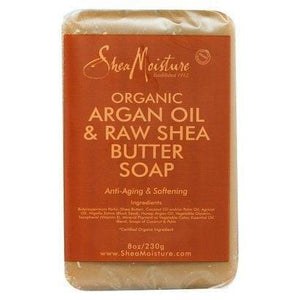 Shea Moisture Organic Argan Oil And Row Shea Butter Soap 230g