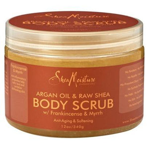Shea Moisture Argan Oil and Raw Shea Body Scrub 340 g