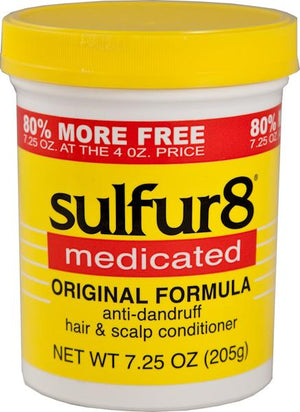 Sulfur 8 Medicated Anti-dandruff Hair and Scalp Conditioner 205 g