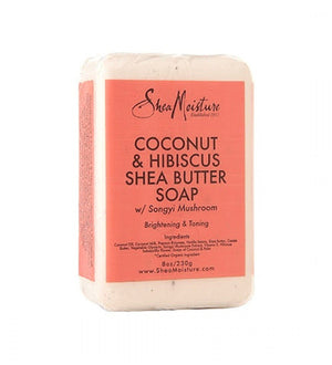 Shea Moisture Coconut and Hibiscus Shea Butter Soap 230 g