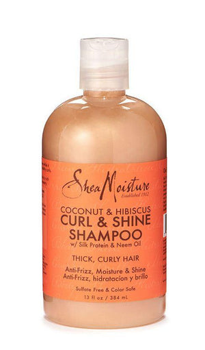 Shea Moisture Coconut and Hibiscus Curl and Shine Shampoo 384 ml