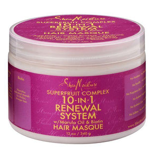 Shea Moisture Superfruit Complex 10-in 1 Renewal Sytem Hair Masque 340g