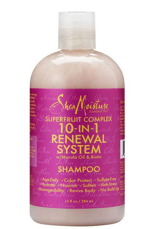 Shea Moisture Superfruit Complex 10-in 1 Renewal Shampoo 384 ml
